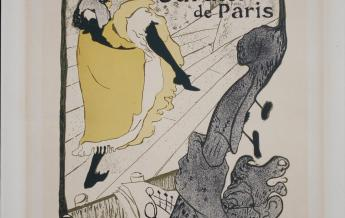 Jane avril. jardin de Paris